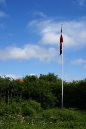 Flagstang med flag af Thomas Widmann
