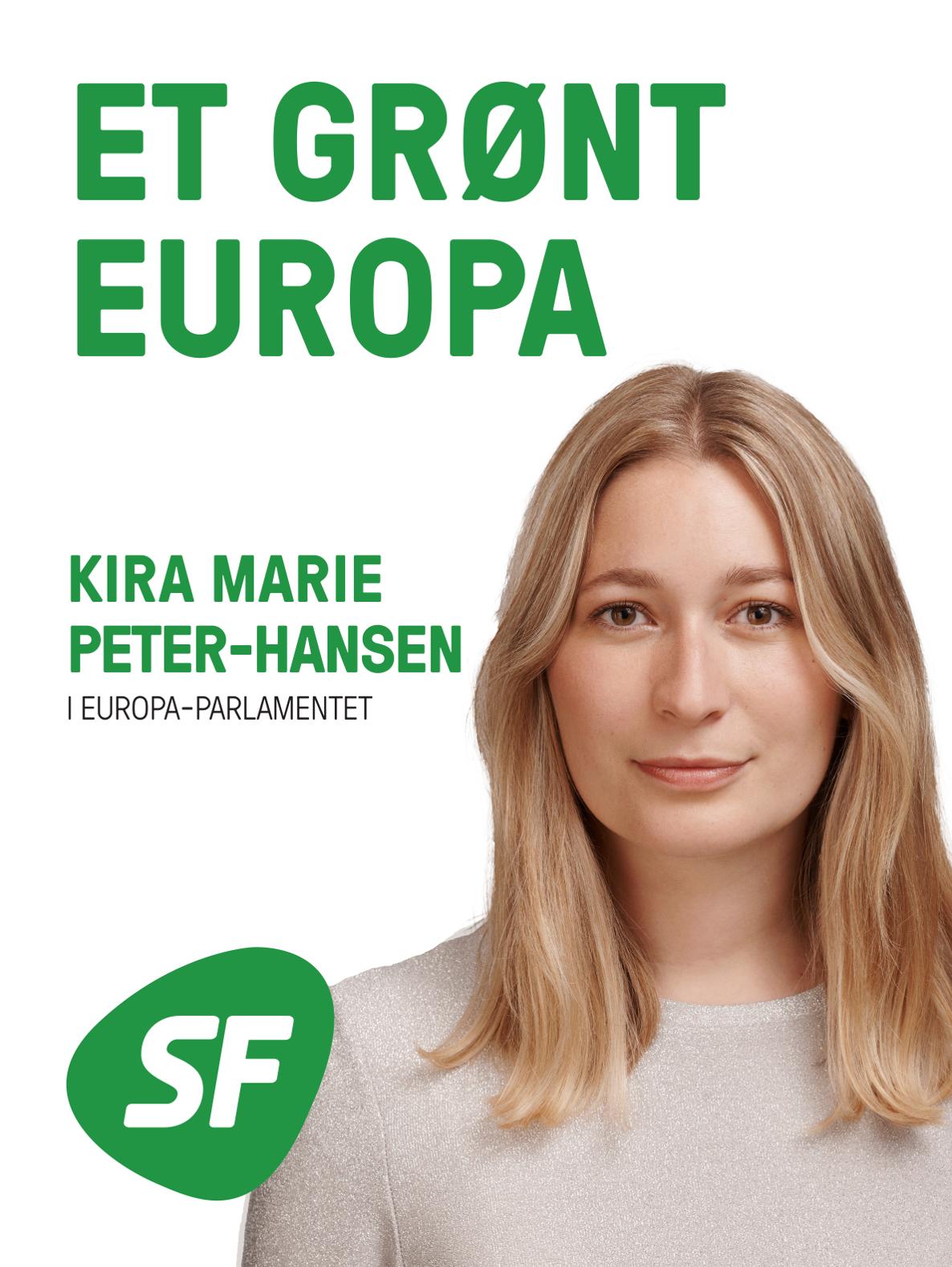 EP-kandidat: Kira Marie Peter-Hansen